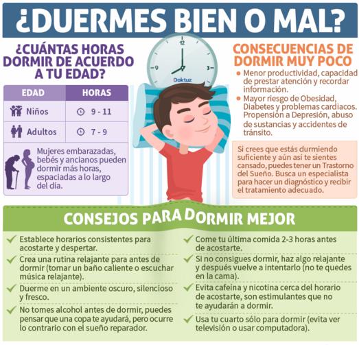 Resultado de imagen de higiene del sueño recomendaciones