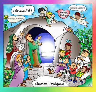 Resultado de imagen de domingo de resurrección para niños